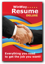 Winway Resume Deluxe The Leader In Resume Software